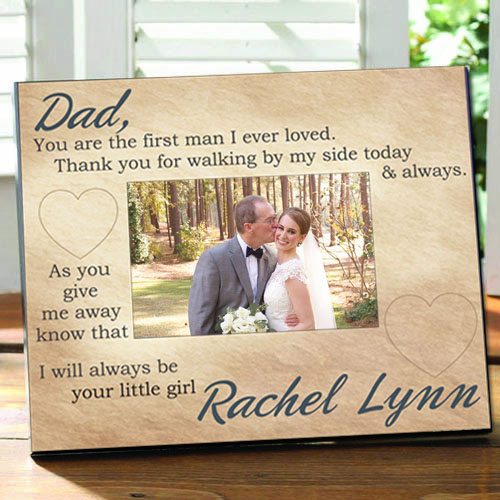 Always Your Little Girl Frame: Engraved Gift Collection
