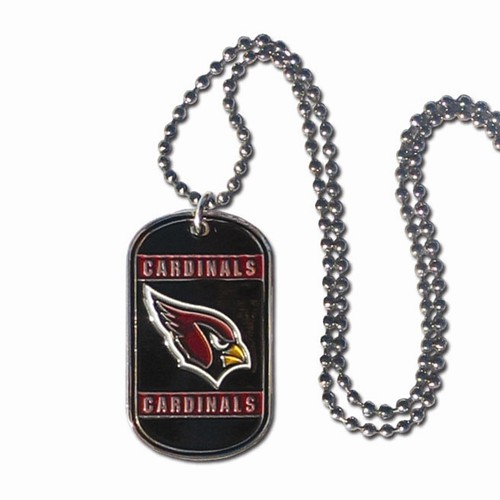 Arizona Cardinals Dog Tag  Engraved Gift Collection 2755cb2b9