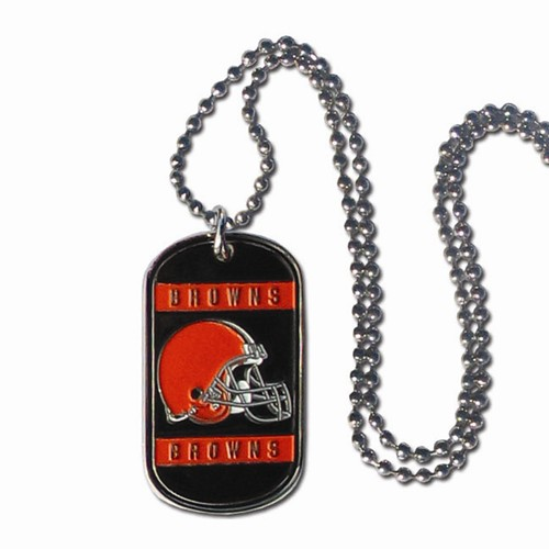 Cleveland Browns Dog Tag: Engraved Gift Collection