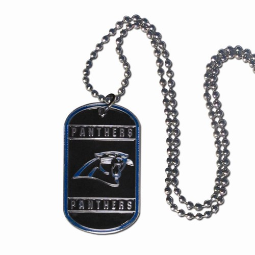 sneakers for cheap 44587 92638 Carolina Panthers Dog Tag
