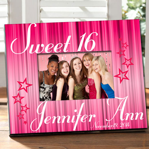 Sweet 16 Frame: Engraved Gift Collection