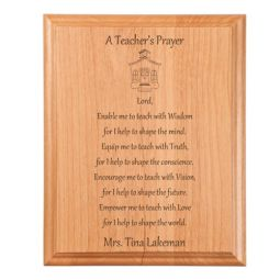 Lawyer Prayer Plaque Engraved Gift Collection
