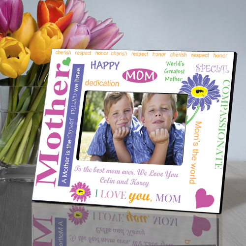 Truest Mom Frame: Engraved Gift Collection